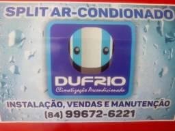 Split Ar-condicionado Instalação e Serviços