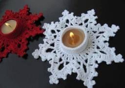 Porta velas Natal
