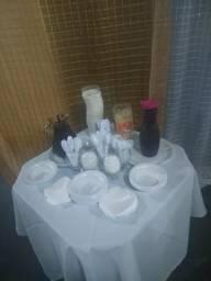 Buffet de churrasco + 10 litros de açaí de brinde