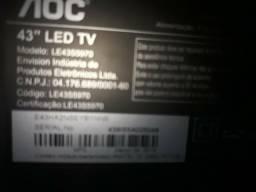 """Tv led 43"""" aoc"""