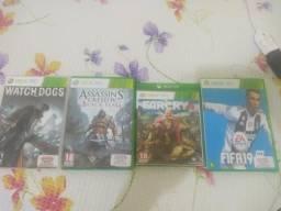 Vendo jogos de Xbox360
