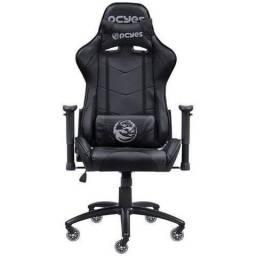 Cadeira Gamer PCYes Mad Racer V8 Preto - MADV8PTGL