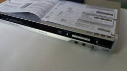 DVD Panasonic com controle remoto original- ótimo estado!