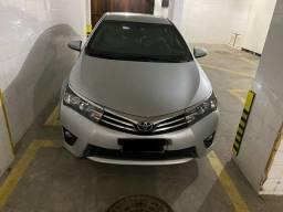 Toyota Corolla xei blindado 2017 único dono