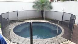 Cerca Removivel para crianças cachorro piscina