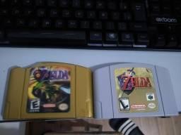 Zelda ocarina of time e Zelda Majoras Mask para Nintendo 64, usado comprar usado  Ribeirão Preto