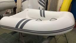 Bote inflável 2 Mts  0km NOVO lancha veleiro fundo de fibra zefir flexboat arboat