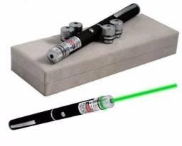 Caneta Laser Pointer Verde Lanterna com 5 Pontas - Loja Coimbra Computadores