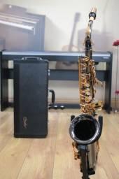 Sax Alto Condor Csa54 Black Niquel - Produto Novo - Loja Física