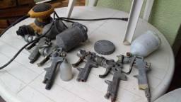 Pistolas usadas