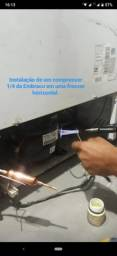 Serviços em Geladeira e Freezer