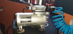 Compressor de aerografo completo