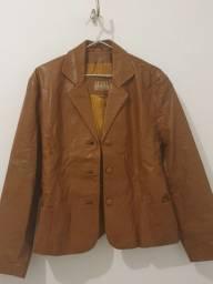 Jaqueta de couro legítimo n° 46
