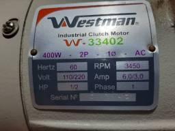 Motor Westman 400 W 2P RPM 3450 110/220