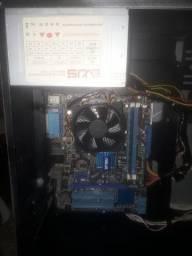 Kit novo placa ddr3,processador,4 RAM ddr3  ,fonte