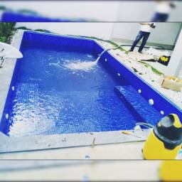 Piscina, placa solar, aquecedor solar e produtos pra piscina