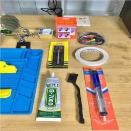 Kit Assistência Técnica Manutenção Celular 28 Itens