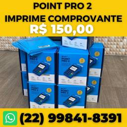 Título do anúncio: Maquininha Point Pro 2: essa imprime comprovante