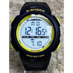 Título do anúncio: Relógio Masculino Casio G-Shock Digital Preto / Verde<br><br>