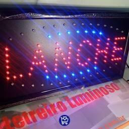 """Letreiro Luminoso """"LANCHE""""<br><br>R$150,00<br><br>"""