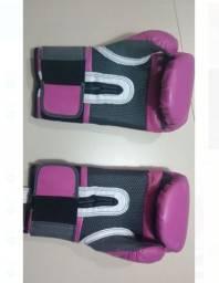 Luvas de Boxe Everlast Pro Style Elite 14oz Cor Rosa