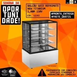 Título do anúncio: Balcão Seco Refrimate New Titanium 1.00m Novo Frete Grátis