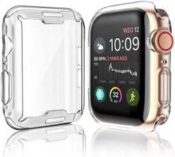 Capa Case Silicone Compatível Applewatch 38 40 42 44mm