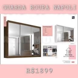 Título do anúncio: Guarda roupa Napoli