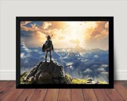 Título do anúncio: Quadro Decorativo/Placa Decorativa - The Legend Of Zelda 30x42