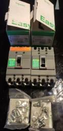Disjuntor caixa moldada tripolar Schneider