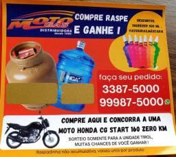 Distribuidora moto gás