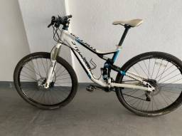 Título do anúncio: Bicicleta Cannondale Trigger 29 Branca Usada