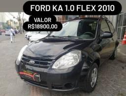 Título do anúncio: Ford KA 1.0 flex 2010