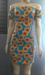 Vestido Ciganinha Girassol