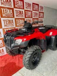 Quadriciclo fourtrax 420cc 4x4 2019 extra