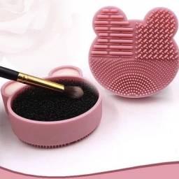 Título do anúncio: Esponja Limpa Pincel Removedor de Produtos Higienizador de Pincel