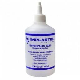 Álcool Isopropílico Limpeza Eletrônicos, 250ml Bico Aplicador
