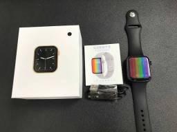Smartwatch W46  + Fone A6s Bluetooth