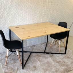 Mesa de jantar * Escrivaninha estilo industrial