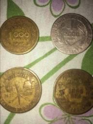 Moedas antigas de 1922 a 1939