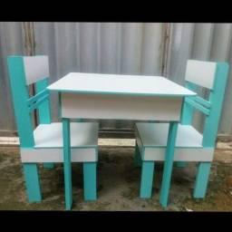 Título do anúncio: Conjunto de mesa com cadeiras produto novo