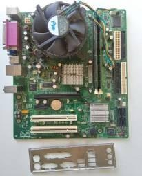 Kit Placa Mãe Intel Pentium D 2.8 com 2GB de RAM
