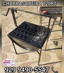 Título do anúncio:   promoção churrasqueira tambo brinde 2 saco Carvão  entrega gratis @@!##