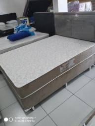 Título do anúncio: Cama Box + Colchao D33 Casal 138x188 Extra Firme