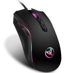 Mouse Ótico Gamer Hongsund Hs-a869 Rgb Led