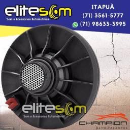 Título do anúncio: Driver Corneta Champion Drv 100 Rms instalado na Elite Som