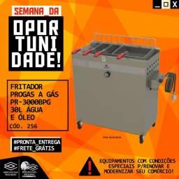 Título do anúncio: Fritador Progas A Gas Pr-3000bpg 30L Agua E Oleo Novo Frete Grátis