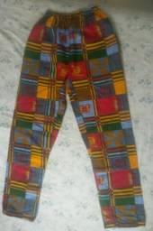 Calça africana (Bazar)