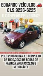 Título do anúncio: Polo Sedan 1.6 Completo!