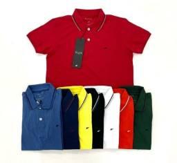 Camisa Polo Malha Peruana 3 por R$ 239,00